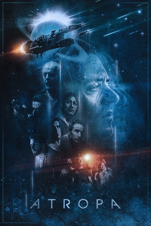 Official Poster: Legendary poster designer Paul Shipper lent his hand the to ATROPA project