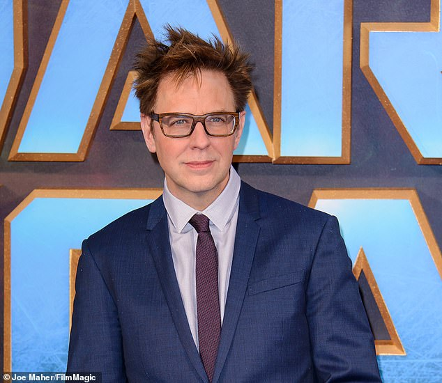 At the helm? Fired Guardians of the Galaxy director James Gunn is reportedly 'in talks' to direct the Suicide Squad sequel he was already hired by Warner Bros. to write (pictured in 2017)