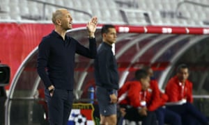 A crowd of just under 10,000 watched Gregg Berhalter's debut as USA coach