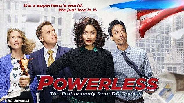 Actually Powerless:The show is about the reality of working life for a normal, powerless person in a world of superheroes and villains