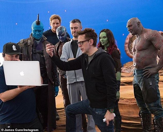 #MeToo movement: Disney fired Gunn in July after offensive tweets he wrote between 2008-2012 joking about rape, child abuse, and pedophilia resurfaced (pictured in 2015)