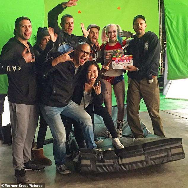 Action! The prior anti-hero movie starring Margot Robbie (2-R) and Will Smith amassed an impressive $746.8M at the global box office back in 2016