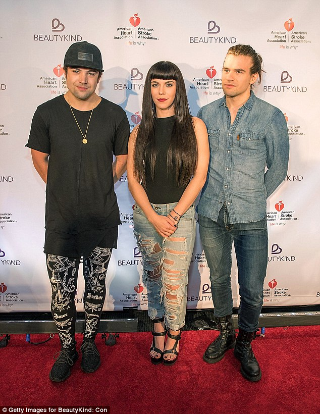 The Band Perry: Kimberly and her brothers Neil, left, and Reid, who were the best men at the her wedding to J.P at the First Presbyterian Church in Greeneville in 2014