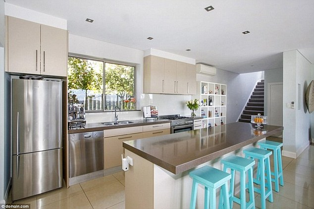 Magical: TV chefColloca loved the swanky kitchen at their old house