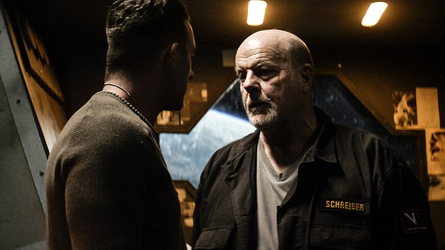 """Supporting role: Legendary genre actor Michael Ironside, appears in the film and has starred in """"Total Recall"""" and """"Top Gun"""""""