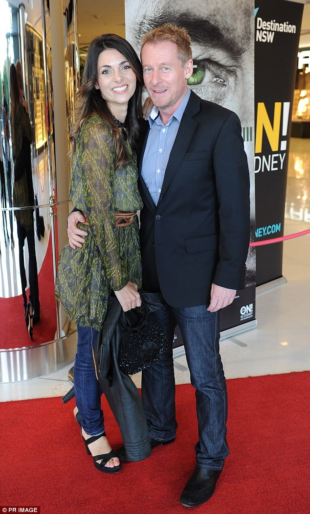 On-set romance: The 54-year-old met Italian-born Colloca, 38, on the set of Hollywood film Van Helsing, him playing villain Dracula and her one of his three wives, and they married for real a year later in 2004