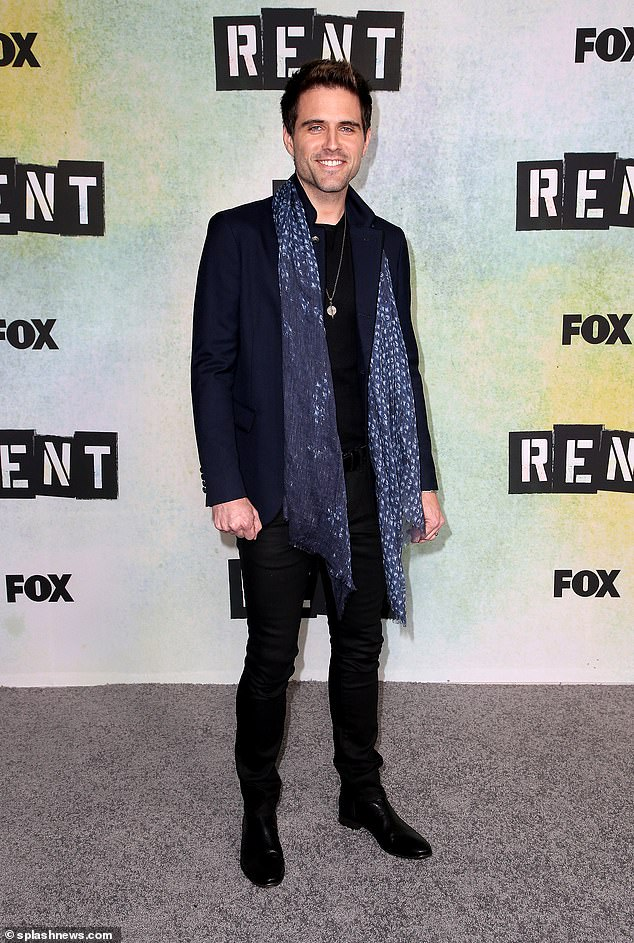 Fox statement:'Last night during a live performance of Fox's production of Rent, one of the actors, Brennin Hunt, was injured,' read a statement from Fox