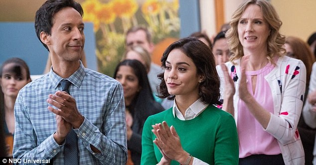 New gig: The beauty stars alongside Danny Pudi and Christina Kirk in NBCs new workplace comedy Powerless, premiering in 2017