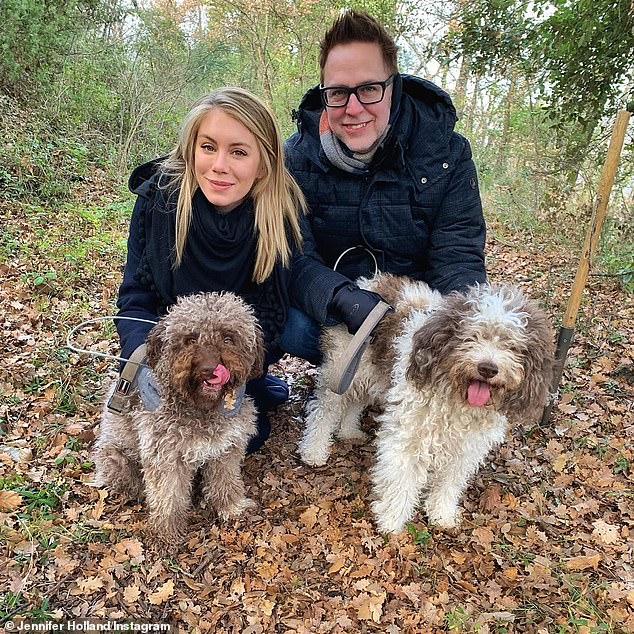 'Thank you for an incredible day!' James was last seen January 6 vacationing in Italy where he hunted for truffles with his loyal girlfriend of four years, Sun Records actress Jennifer Holland