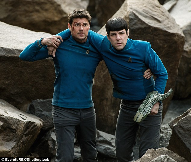 Not doing so well: Star Trek Beyond landed in fifth with $10.2 million, pushing its stateside gross to $127.9 million after three weeks for a $194.4 million global tally, below expectations