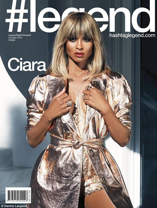 Strike a pose: Ciara is redefining herself as a model