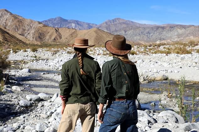 Breathtaking: The film was filmed in the California desert in the USA