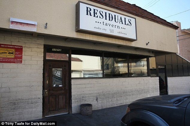 Wish you were here: This is the Studio City bar where Justin Bieber headed alone while other celebs partied in New York